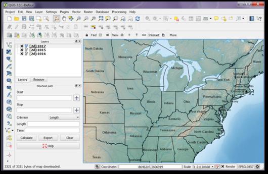 Make Web Map Service (WMS) requests